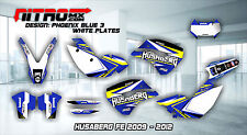 HUSABERG Graphics Kit Decals Design Stickers FE 390 450 570 2009 2010 2011 2012