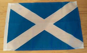 """SCOTLAND FLAG - 45cm x 30cm - 18"""" x 12""""  - Scottish flag"""