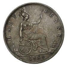 GRAN BRETAGNA Victoria 1/2 Half Penny 1889 - Ottima