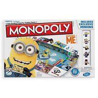 Monopoly Despicable Me 2 Board Game KIDS FUN MINIONS GAME GIFT IDEA BRAND NEW