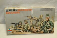 ESCI 1/72 WWII Japanese Soldiers - MODEL KIT / FIGURES