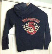 Foo Fighters Full Zip Hoodie Jacket Hooded Skull Racing Chopper Motorcycle Logo