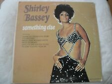 SHIRLEY BASSEY SOMETHING ELSE VINYL LP 1971 UNITED ARTISTS WHERE DO I BEGIN VG+