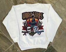 Vintage 1992 World Series Atlanta Braves Toronto Blue Jays Baseball Sweatshirt,