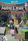Minecraft (Wii U, 2015)-Manual and Game