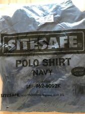 Sitesafe Polo Shirts, Job Lot de deux. Neuf.