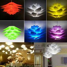 DIY Lotus Light Chandelier Ceiling Pendant Lampshade Home Restaurant Bar Decor