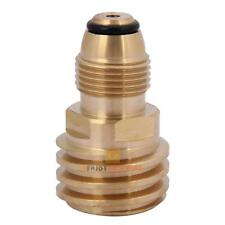 Converts Propane LP TANK POL Service Valve to QCC-1(Type-1) Outlet Brass Adapter