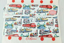 Cath Kidston Trains Oilcloth Baby Travel Changing Mat Wipe Clean Gift Bag