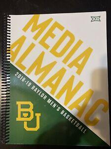 2018-19 Baylor Bears men's basketball media guide