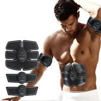 Abdominal Training Gear Body Shape Exercise EMS Muscle ABS Fit Fitness Set AS^#