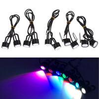 2Pcs Motorcycle handlebar LED spotlight headlight driving light fog lamp P LK