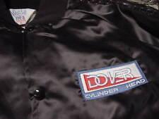 DOVER  Cylinder Head   Black satin Jacket adult XL