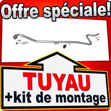 Tuyau D'échappement FORD FIESTA MK VI 1.6 TDCi 75 / 90CH aussi Van ATU