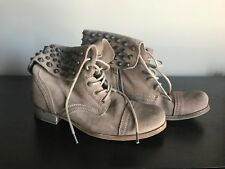 ALLSAINTS Suede Studded Boots, US10/EU40, Brand New with Box