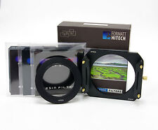 FORMATT Hitech 100 ND FILTER KIT C / W METAL Holder,3 filtri XND,77 mm di larghezza anello