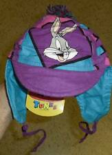 Bugs Bunny Looney Tunes baby toddler hat bonnet ear flaps pom New w/ Tags