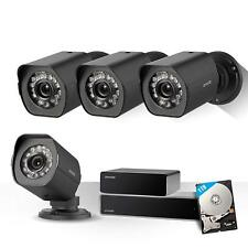 Zmodo Full 1080p 8CH NVR sPoE Repeater Video Home Security Camera System 1TB HDD