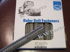 Clipper belt hook lacing round baler repair fasteners 4-1/2 - 4 RHTX 02435