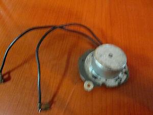 Used Ingraham Model A Electric Clock Motor 3W 115 Volt AC 60 CY WORKING (873B)