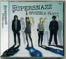 Supersnazz-invisible fête CD JAPON press teengenerate gutar wolf raydios punk
