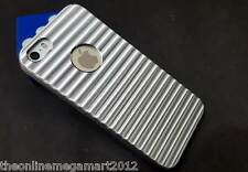 Premium Silver lining Logo Cut Hard Back Case/Cover/Pouch For Apple Iphone 5, 5s