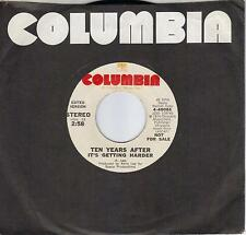 TEN YEARS AFTER  It's Getting Harder  rare promo 45  ALVIN LEE