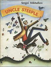 1980 UNCLE STEEPLE by S.MIKHALKOV Russian Illustrated Children's Book in English