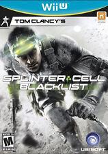 Wii U SPLINTER CELL BLACKLIST BRAND NEW  VIDEO GAME