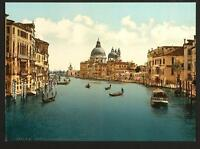 On The Grand Canal Venice A4 Photo Print