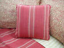 NEW Custom Ralph Lauren San Luca Red Stripe Throw Pillow