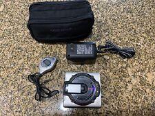 Sharp Md-Ms702 Mk Personal Portable MiniDisc Player & Recorder W/ Case
