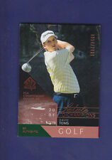 David Toms 2003 UD Golf SP Authentic #100 Salute to Champions #0054/2001