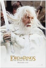LORD OF THE RINGS: ROTK - 2003 - Original Advance 1-sheet movie poster MCKELLEN