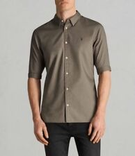 AllSaints Cotton Fitted Casual Shirts & Tops for Men