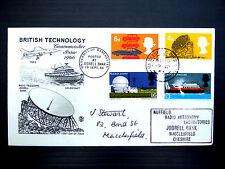GB 1966 Technology with RARE Macclesfield PMK/Cachet SALE PRICE FP4551