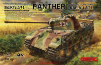 Meng TS-035 Model 1/35 Sd.Kfz.171 Panther Ausf.A Late WWII german