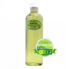 12 oz Premium Refined Sesame Seed Oil 100% Pure Organic Cold Pressed Best Fresh