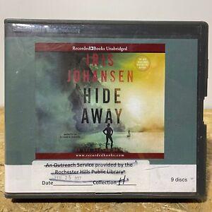 Hide Away by Iris Johansen Ex Library 9 CD Unabridged Audiobook Free US Shipping