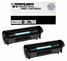 2pk Q2612a 12A Toner Cartridge For Hp Laserjet 1018 1012 1010 1020