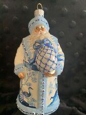 "Patricia Breen 2007 ""Splendid Santa "" Ornament"