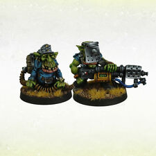 Orco war2 ORC Grot greatcoat IRON Reich Goblin flamer Team (2) kromlech krm080