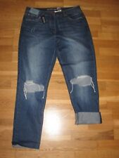 NEXT Boyfit Comfort Stretch Jeans Size 12 Long Leg 29 With Tags