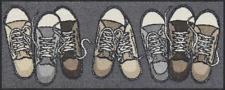 Ab Lager Fußmatte Salonloewe Sneakers ca.30x75cm waschbare Minimatte