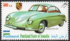 1951 PORSCHE 356 Sports Car Automobile Stamp