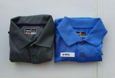 New listing Grand Slam Performance Mens short sleeve golf Shirts lot of 2 blue grey size M