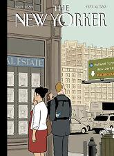 The New Yorker Magazine  Sept 16, 2013, Reality TV, Bryan Cranston
