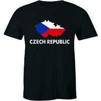 Czech Republic Country Crest Flag Colors Nationality Ethnic Pride -Men's T-shirt