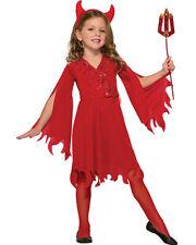 Delightful Devil Girls Costume Size S