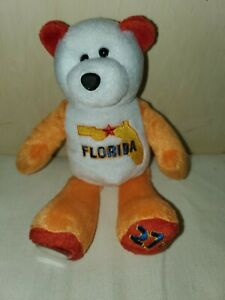 Limited Treasures Florida State Bear with State Quarter on the Paw  27th State
